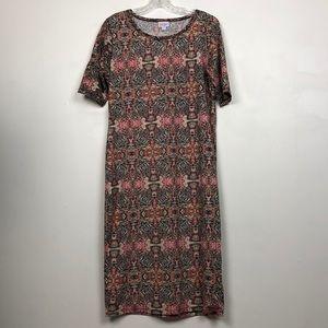 LuLaRoe Julia Bodycon Dress EUC Sz XL